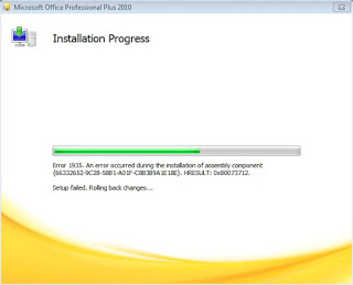 Mengatasi Gagal Instal Microsoft Office