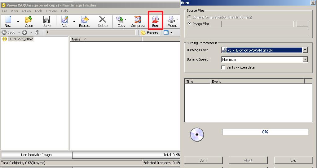 Burning Option Power ISO v.6.1 Terbaru