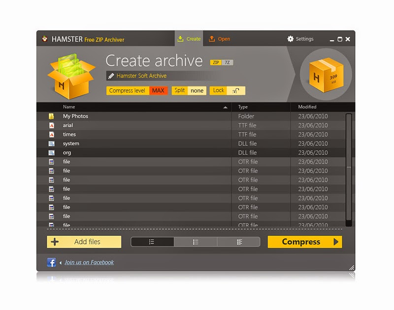 Hamster Soft 3.0.0.8 Zip Archiver