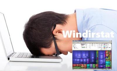Komputer Hang Atau Lemot Dapat diatas dengan Windirstat