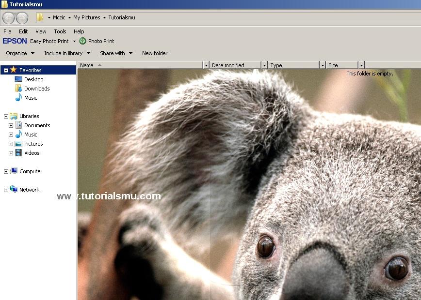 Cara Merubah Latar Belakang Folder di Windows 7