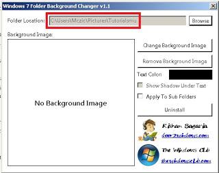 Cara Merubah Latar Belakang Folder dengan Windows