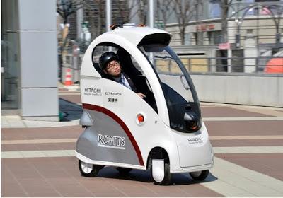 Kendaraan Futuristik Hitachi Ropits