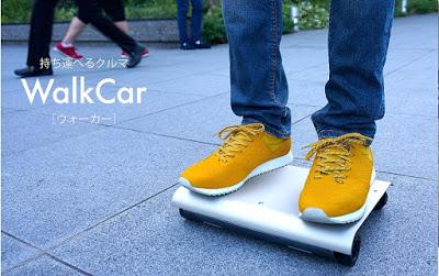 Kendaraan Futuristik Cocoa Motors Walkcar
