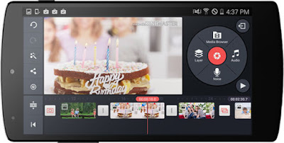 Aplikasi Edit Video Terbaik di smartphone android