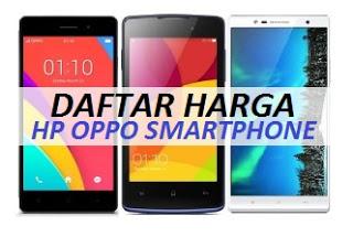 harga oppo smartphone terbaru spesifikasi terbaik