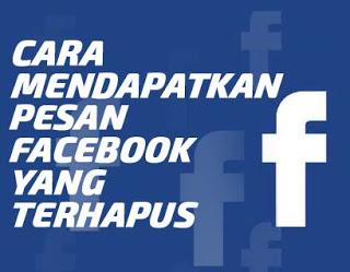Cara Mengembalikan Pesan Facebook