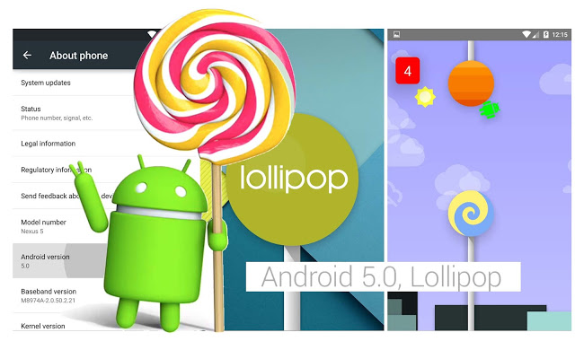System Android Lollipop 5.0