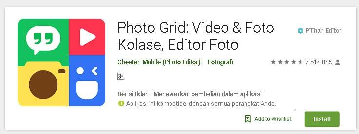 Rekomendasi aplikasi edit foto terpopuler dan terbaik