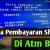 Gambar Cara bayar Shopee Lewat ATM BRI